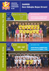 EURO CUP U ZAGREBU I ŠVICARSKOJ!