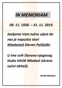 IN MEMORIAM!